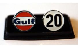 Porsche Gulf Racing Cufflinks