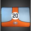 Gulf Racing Laptop Sleeve