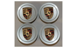 Porsche 986/996 Porsche Crest Center Wheel Caps