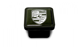 Porsche Tow Hitch Plug- Black