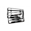 Stainless Steel License Plate Frame [Black]