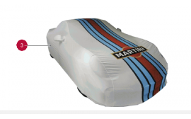 Porsche Martini Racing Indoor Car Cover