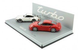 Porsche 40 Years of the 911 Turbo (Set of 2)