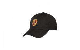 Porsche FLEXFIT Crest Cap Black