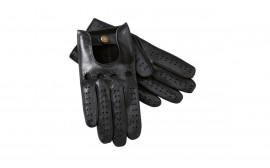 Porsche Black Men's Leather Gloves