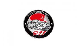 Porsche 911 Grill Badge