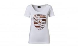 Rose-Gold Crest T-Shirt