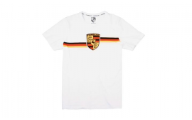 Porsche Collector's T Shirt No. 1 and Tin