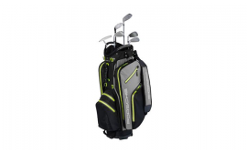 Porsche Golf Cart Bag- Acid Green