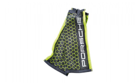 Porsche Golf Towel - Acid Green