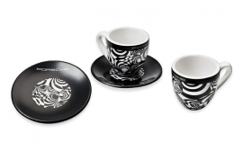 Porsche Prototype Espresso Set of 2