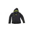 Men's Sport Jacket- Black and Acid Green