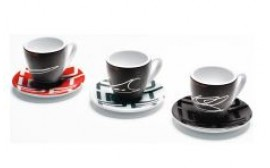 Porsche Racing Espresso Cup Set of 3