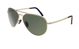 Porsche Classic Design Aviator Sunglasses, Gold