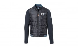 Porsche MARTINI RACING Fabric-Mix Sweat Jacket for Men