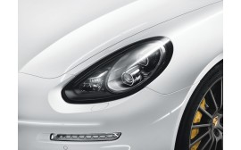 Porsche LED headlights, Black