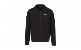 Motorsports Collection Men's Black Fanwear Sweat Jacket