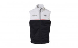 Motorsports Collection Black/White Unisex Vest