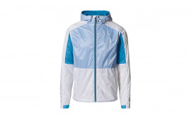 Taycan Collection Ultra Light White/Blue Unisex Jacket