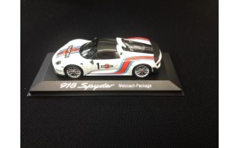 Porsche MODEL CAR 918 SPYDER Weissach Package 1:43