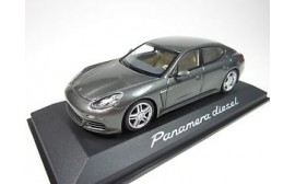 Porsche Model Car Panamera 4S 2nd Generation - Dark Silver