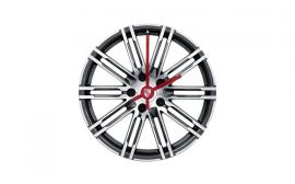 Porsche 911 Turbo Rim Wheel Clock