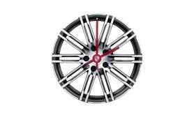 911 Turbo Rim Wheel Clock