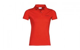 Porsche Women's Classic Red Polo