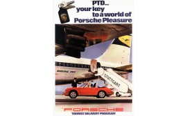 Porsche Tourist Delivery- Targa