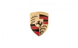 Porsche Metal Hood Crest