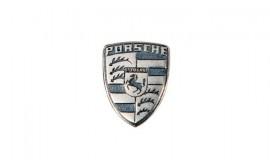 Porsche Metal Emblem - Key Cap