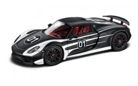 Porsche MODEL CAR 918 SPYDER ASSEMBLY 1:43