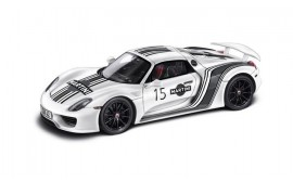 Porsche 918 Spyder Prototype 1:18