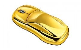 Porsche Computer Mouse, Gold