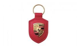 Porsche Crest Keyring - Red