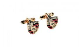 Porsche Crest Cuff Links