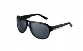 Porsche Unisex Sunglasses, Gray/Black