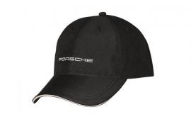 Porsche Black Porsche Logo Cap