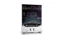 Porsche 50 Years of the 911 Enamel Calendar