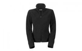 Porsche Ladies Black Fleece Jacket