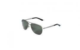 Porsche Unisex Aviators, Green/Silver
