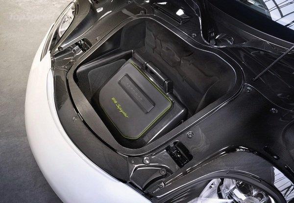 porsche exclusive 918 spyder luggage set. Black Bedroom Furniture Sets. Home Design Ideas