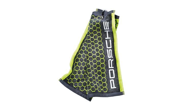 Porsche Golf Towel Acid Green