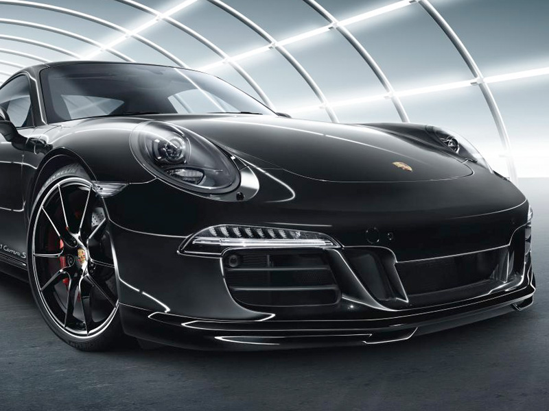 Porsche 991 Bi Xenon Headlights In Black