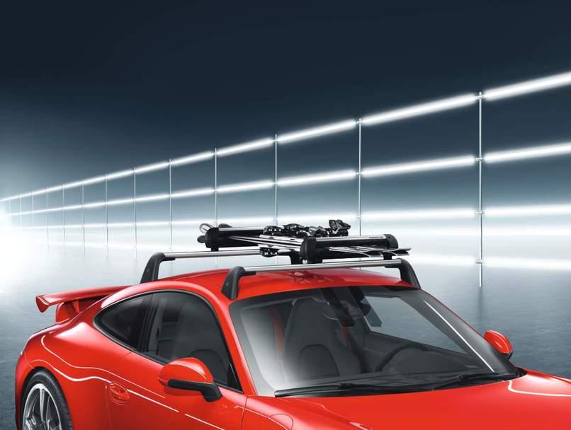 Porsche Ski Snowboard Rack Wide