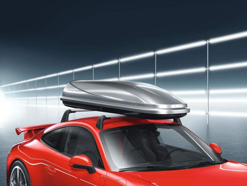 Porsche Roof Box Narrow