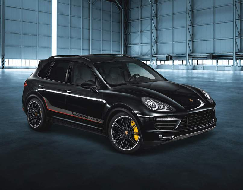 Porsche Air Intake Grille Painted In Black High Gloss