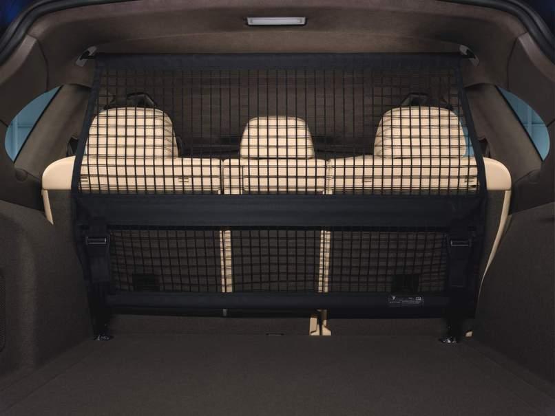 Porsche Luggage Compartment Partition Net