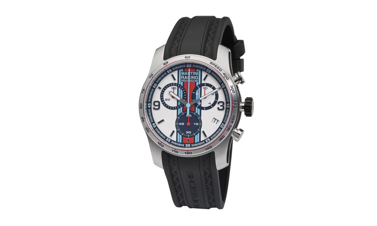 Porsche Martini Racing Sport Chrono Silver Black Red Blue