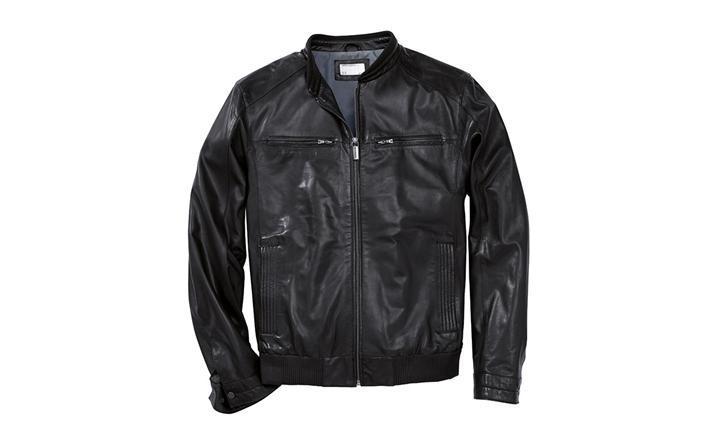 porsche men 39 s leather jacket coats jackets. Black Bedroom Furniture Sets. Home Design Ideas